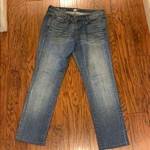 LOFT Modern Slim Jeans- like new